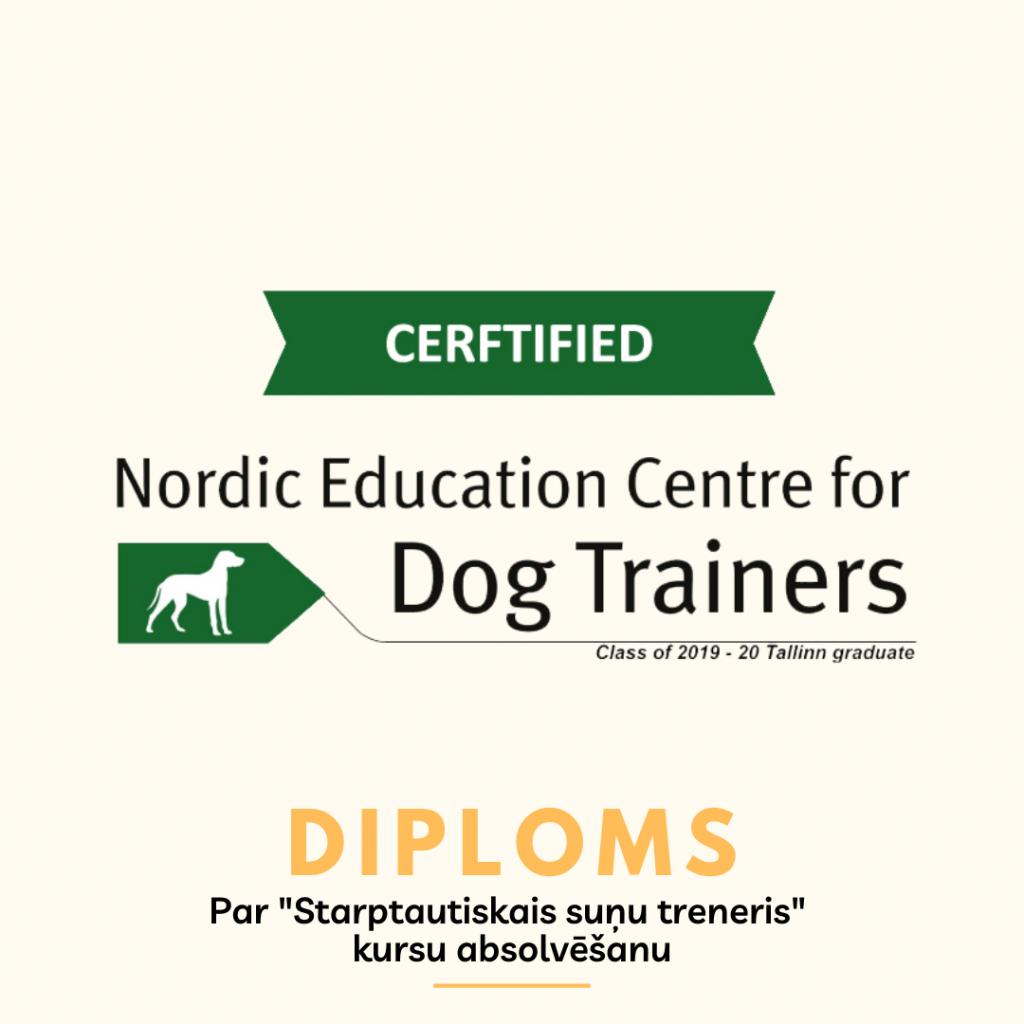 International Dog trainer diploma
